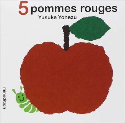 5 pommes rouges de Yusuke Yonezu