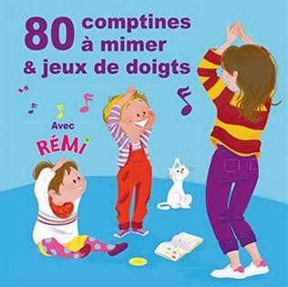 80 comptines à mimer et jeux de doigts : Deux petits bonshommes