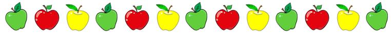Attache décoration pommes
