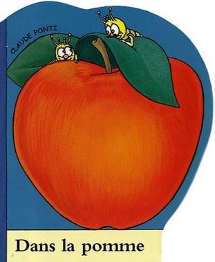 Dans la pomme de Claude Ponti