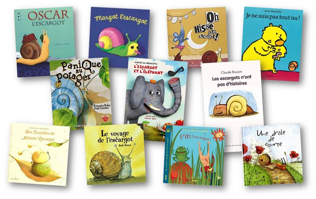 Albums Sur Le Theme Des Escargots En Maternelle Et Cycle 2