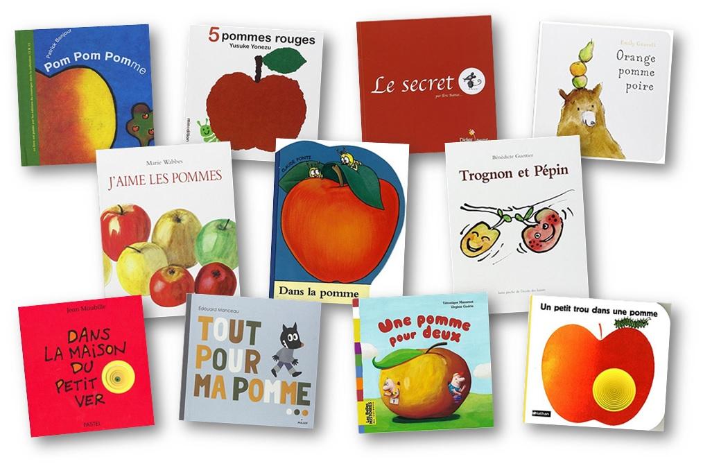 Livres pommes