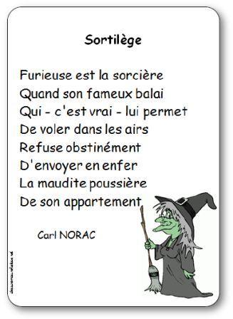 Po sie sortil ge de carl norac po sie illustr e sortil ge de carl norac - Le jeux de la sorciere qui fait peur ...