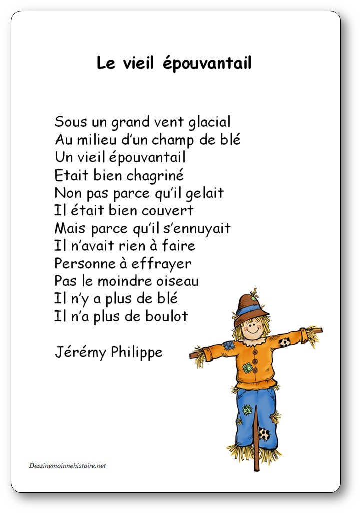 Poème Le Vieil épouvantail De Jérémy Philippe Poésie