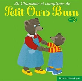 20 chansons et comptines de Petit Ours Brun : Arlequin dans sa boutique