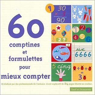 60 comptines et formulettes pour mieux compter