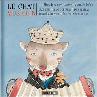 Le chat musicien, chansons de Joseph Beaulieu