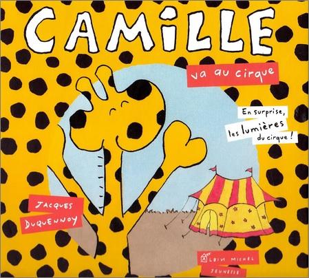 Camille va au cirque de Jacques Duquennoy