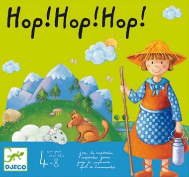 Hop ! Hop ! Hop ! Jeu de coopération de Djeco