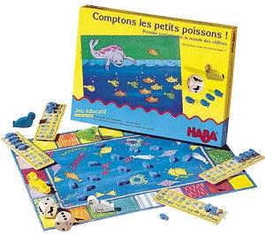 Comptons les petits poissons de Haba