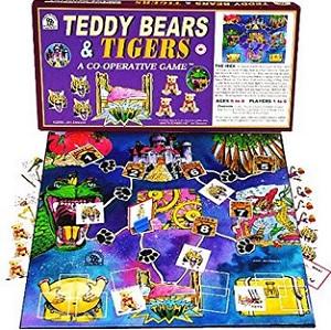 L'ours Teddy et les tigres