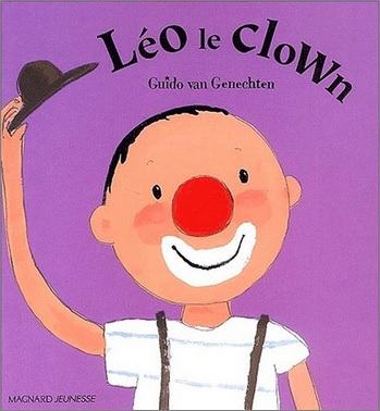 Léo le clown de Guido van Genechten