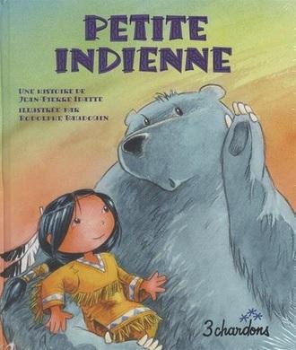 Petite indienne de Jean-Pierre Idatte