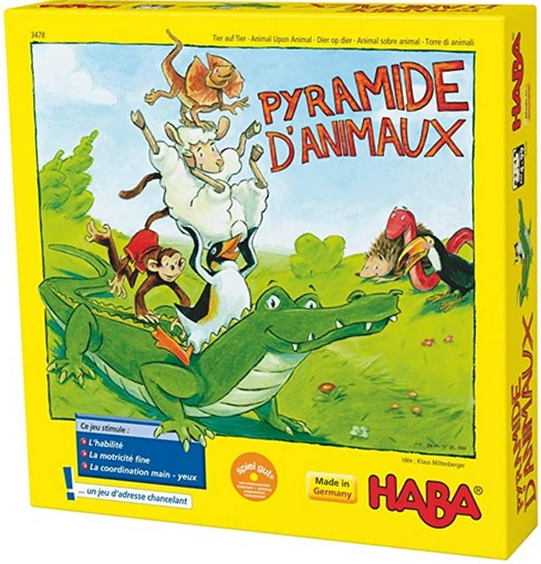 Pyramide d'animaux, Haba