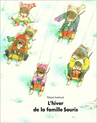 L'hiver de la famille souris de Kazuo Iwamura