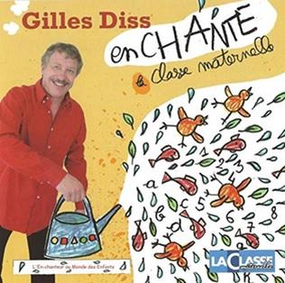 Gilles Diss enchante la classe maternelle