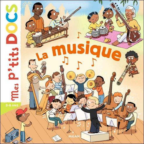 Mes p'tits DOCS La musique de Didier Balicevic et Stéphanie Ledu