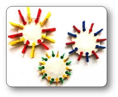 Un atelier pinces linge en ps et ms - Les petites assiettes la fourchette ...