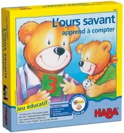 L'ours savant apprend à compter Haba