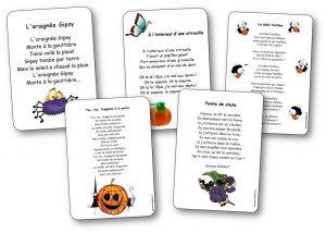 Comptines chansons et po sies sur halloween pour la maternelle et le cycle 2 comptine - Le jeux de la sorciere qui fait peur ...