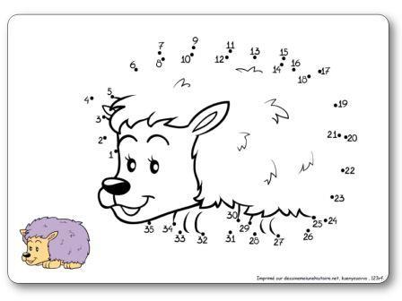 Le jeu des points relier sur l 39 automne pour la maternelle - Jeux a relier les points gratuit ...