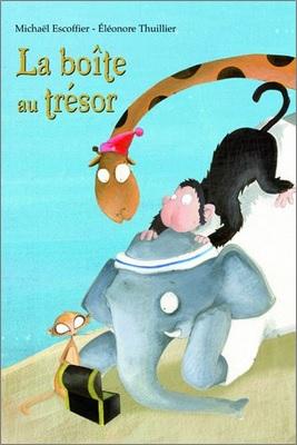 La boîte au trésor Michaël Escoffier et Eléonore Thuillier