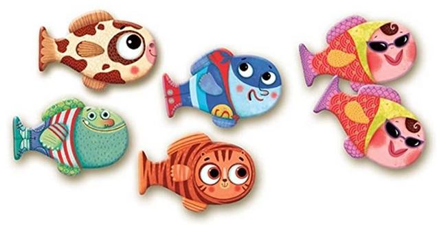 Mémo poissons Djeco