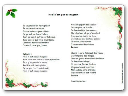 Chanson Noël n est pas au magasin Anne Sylvestre