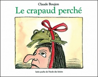 Le crapaud perché de Claude Boujon