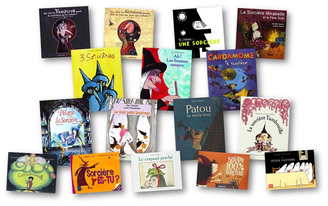Des Albums Pour Halloween Sur Les Sorcieres Et Les Fantomes