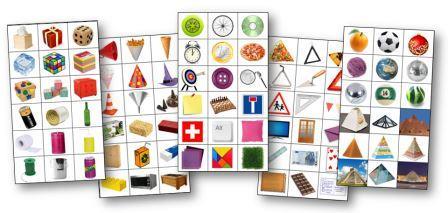 Etiquettes formes géométriques pour le tri, Tri des formes géométriques