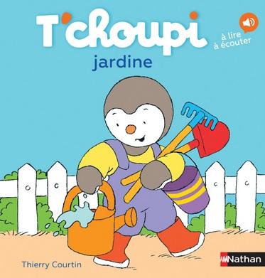 T'choupi jardine Thierry Courtin