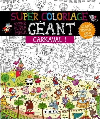 Super coloriage géant, Carnaval !
