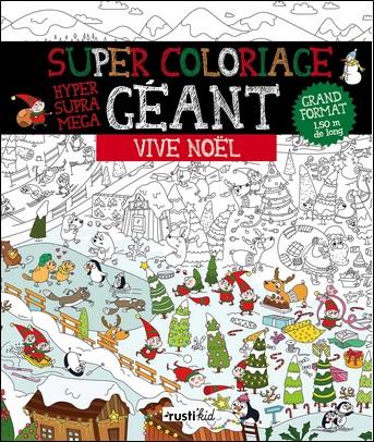 Super coloriage géant, Vive Noël
