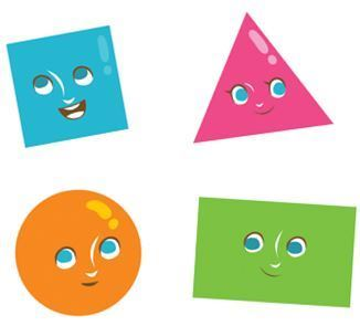 Clipart gratuit formes géométriques