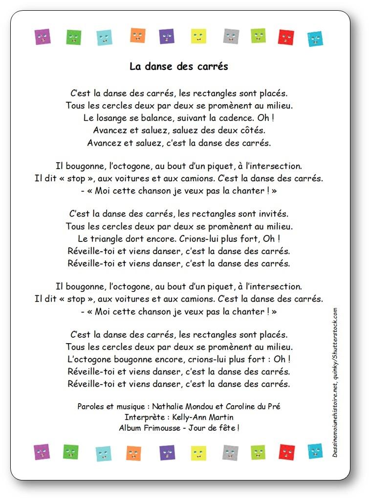 """""""La danse des carrés"""", une chanson de Kelly-Ann Martin"""