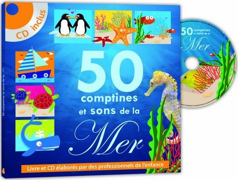 50 comptines et sons de la mer par Eveil et découvertes