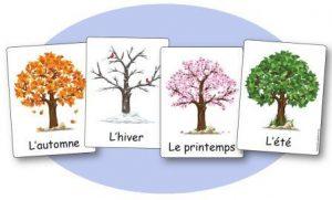 L 39 affichage des 4 saisons en maternelle affichages saisons maternelle - Dessin 4 saisons ...