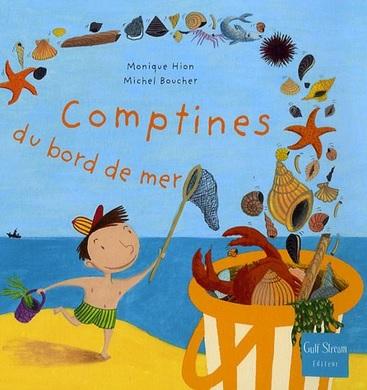 Comptines du bord de mer de Monique Hion et Michel Boucher