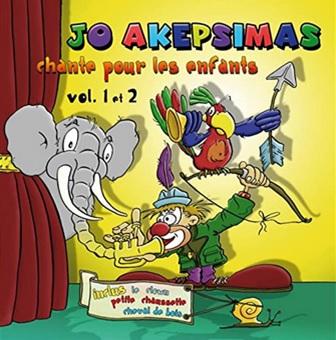 Jo Akepsimas chante pour les enfants