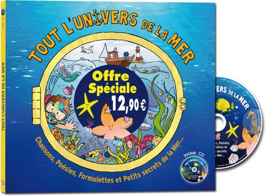 Tout l'univers de la mer de Coralline Pottiez et Yan Dillenschneider
