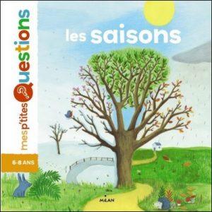 Documentaire 6-8 ans Les saisons Pascale Hédelin et Maud Legrand