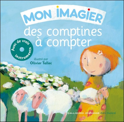 Mon imagier des comptines à compter, illustrations d'Olivier Tallec
