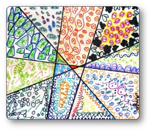 Graphisme en Grande Section : motifs graphiques décoratifs