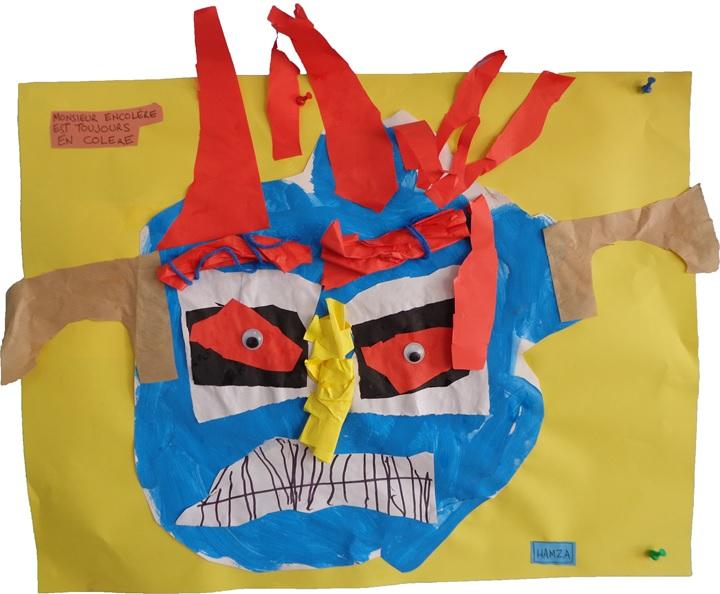 Monstres en arts visuels petite section de maternelle
