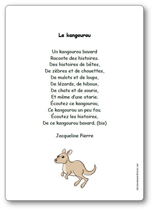 Le kangourou bavard