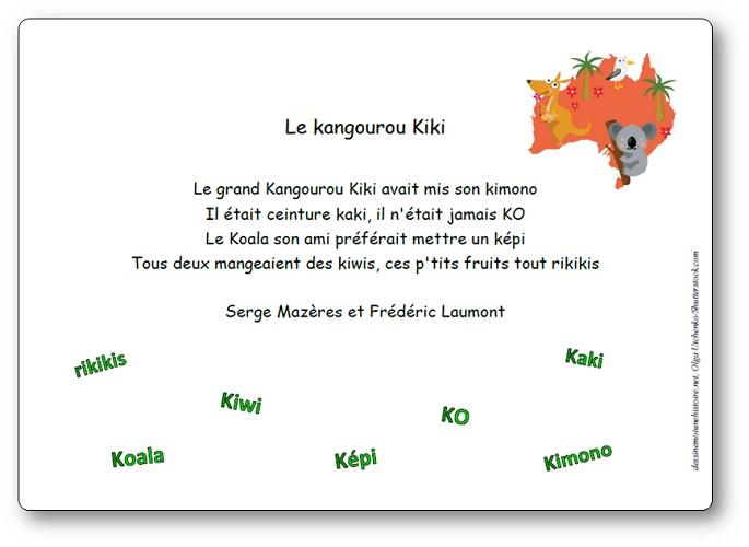Le kangourou Kiki