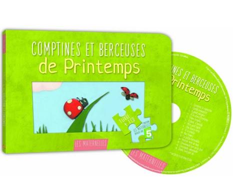 Comptines et berceuses de printemps Suzanne Francois