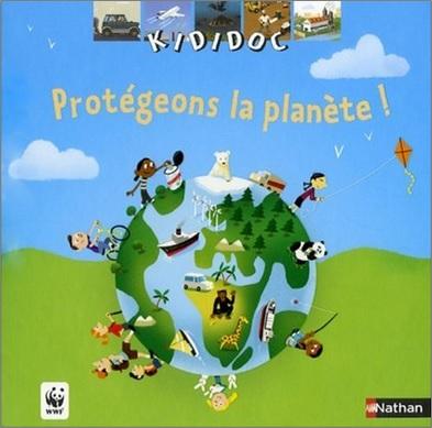 Kididoc : Protégeons la planète ! de Jean-Michel Billioud et Didier Balicevic