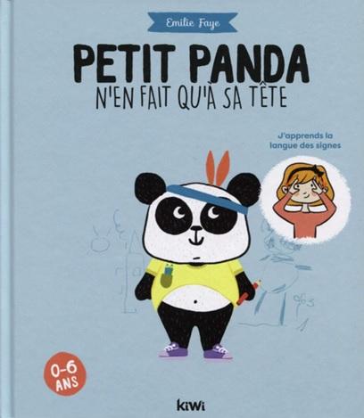 Petit panda n'en fait qu'à sa tête d'Emilie Faye